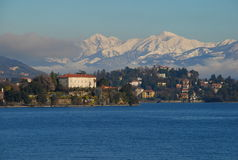 Lake Maggiore, Isola Madre. Italy Royalty Free Stock Photos