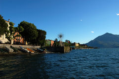 Lake Maggiore, Italy. Coast at Lake Maggiore, North Italy Stock Photo