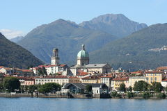 Lake Maggiore in Italy Stock Photo