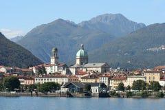 Lake Maggiore in Italy stock photo