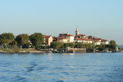 Lake Maggiore in Italy Royalty Free Stock Photos