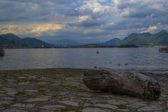 Lake Maggiore (Italy). Baveno, Lake Maggiore Royalty Free Stock Images