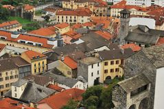 Lake Maggiore Italy. Italy square sky windows cloud tower colors country road street courts green door panorama sunset courts sleep square Stock Images