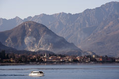Lake Maggiore landscape Stock Photo