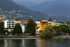Lake Maggiore Stock Photo