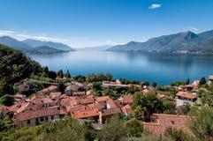 Lake Maggiore, Maccagno Stock Photos