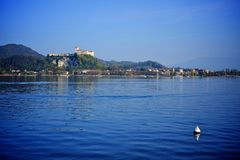 Lake Maggiore Stock Photography