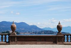 Lake Maggiore panorama Royalty Free Stock Photo
