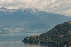 Lake Maggiore in Piedmont Stock Photography