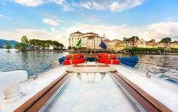 Lake Maggiore Stresa Italy Stock Photos
