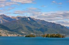 Lake Maggiore, Switzerland. Stock Photo