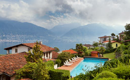 Lake Maggiore, Switzerland Stock Images