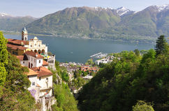 Lake Maggiore, Switzerland Royalty Free Stock Photo