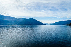 Lake Maggiore, Switzerland. Lago Maggiore in Switzerland and Italy Stock Image