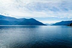 Lake Maggiore, Switzerland Stock Image