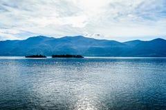 Lake Maggiore, Switzerland. Lago Maggiore in Switzerland and Italy Stock Photos