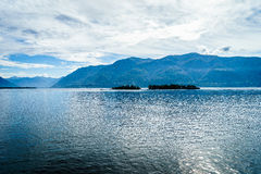 Lake Maggiore, Switzerland. Lago Maggiore in Switzerland and Italy Royalty Free Stock Photo