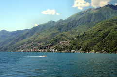 On the Lake Maggiore in Switzerland Royalty Free Stock Photos
