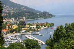 Lake Maggiore Verbania Royalty Free Stock Photography