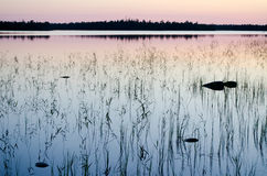 Lake Magrino in Karelia, Russia Stock Photo