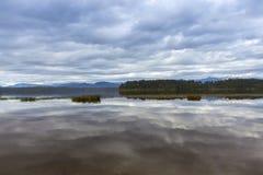 Lake Mahinapua Royalty Free Stock Photography
