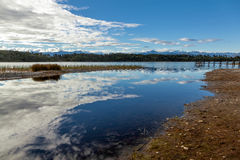 Lake Mahinapua Royalty Free Stock Image