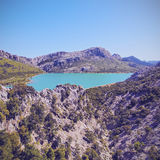 Lake on Majorca Royalty Free Stock Images