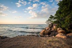 Lake Malawi. The beautiful lake Malawi in Africa Stock Images