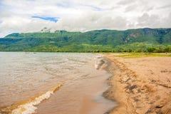 Lake Malawi at Chitimba beach Stock Photos