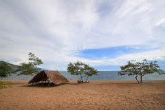 Lake Malawi (Lake Nyasa). Is an African Great Lake and the southernmost lake in the East African Rift system, located between Malawi, Mozambique and Tanzania Stock Photos