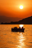 Lake Malawi Sunset Stock Photo