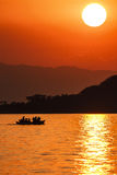 Lake Malawi Sunset Stock Photos