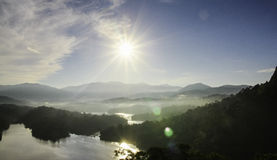 Lake in Malaysia Royalty Free Stock Image