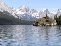 Lake Maligne Stock Images