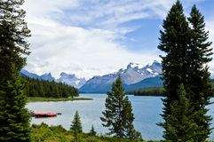 Lake Malinge, Canada Royalty Free Stock Images