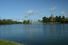 Lake in Malmo Royalty Free Stock Photos