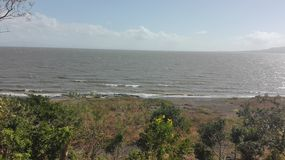 Lake of Managua stock images