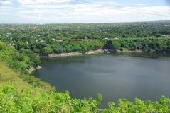 Lake in Managua, Nicaragua Royalty Free Stock Photo