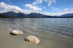 Lake Manapouri Stock Image