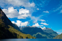 Lake Manapouri Stock Photo