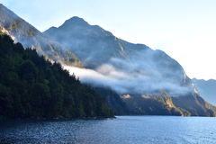 Lake Manapouri, New Zealand Royalty Free Stock Photos
