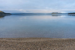 Lake manapouri in New Zealand Stock Images