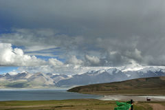 Lake Manasarovar Stock Image