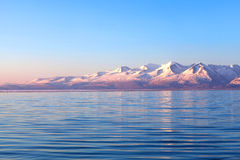 Lake Manasarovar in Western Tibet Royalty Free Stock Photos