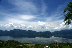 Lake Maninjao Royalty Free Stock Image