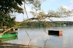 Lake in Masuria district Royalty Free Stock Photo