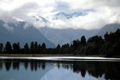 Lake Matheson Stock Photo