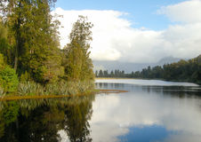 Lake Matheson - Glaciers Country Royalty Free Stock Images