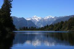 Lake Matheson / Mount Cook Royalty Free Stock Photos