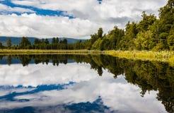 Lake Matheson near Fox Glacier South Island New Zealand Stock Photography